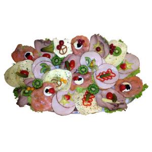 20er-Gourmet Brötchenplatte