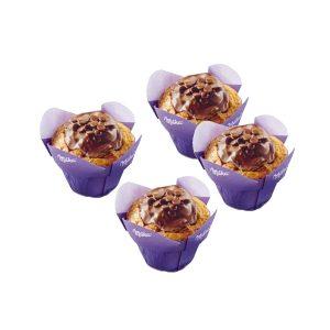 10er Muffin mit Milka® Schokolade und Drops