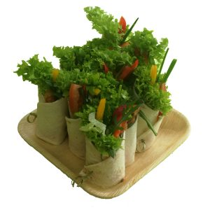 10er-Wraps vegetarisch