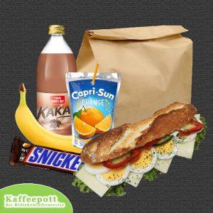 Lunchpaket nach Ihren Wünschen