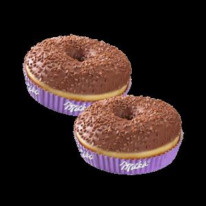 10er Schoko-Donut mit Milka®