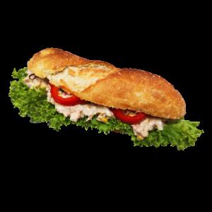 5er-Steinofen-Baguette mit Thunfisch