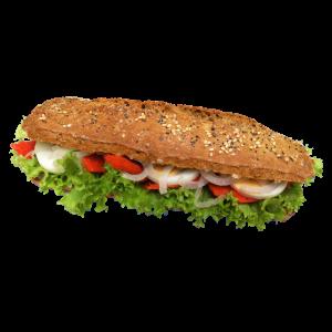 Sandwich Sportkorn Lachsersatz