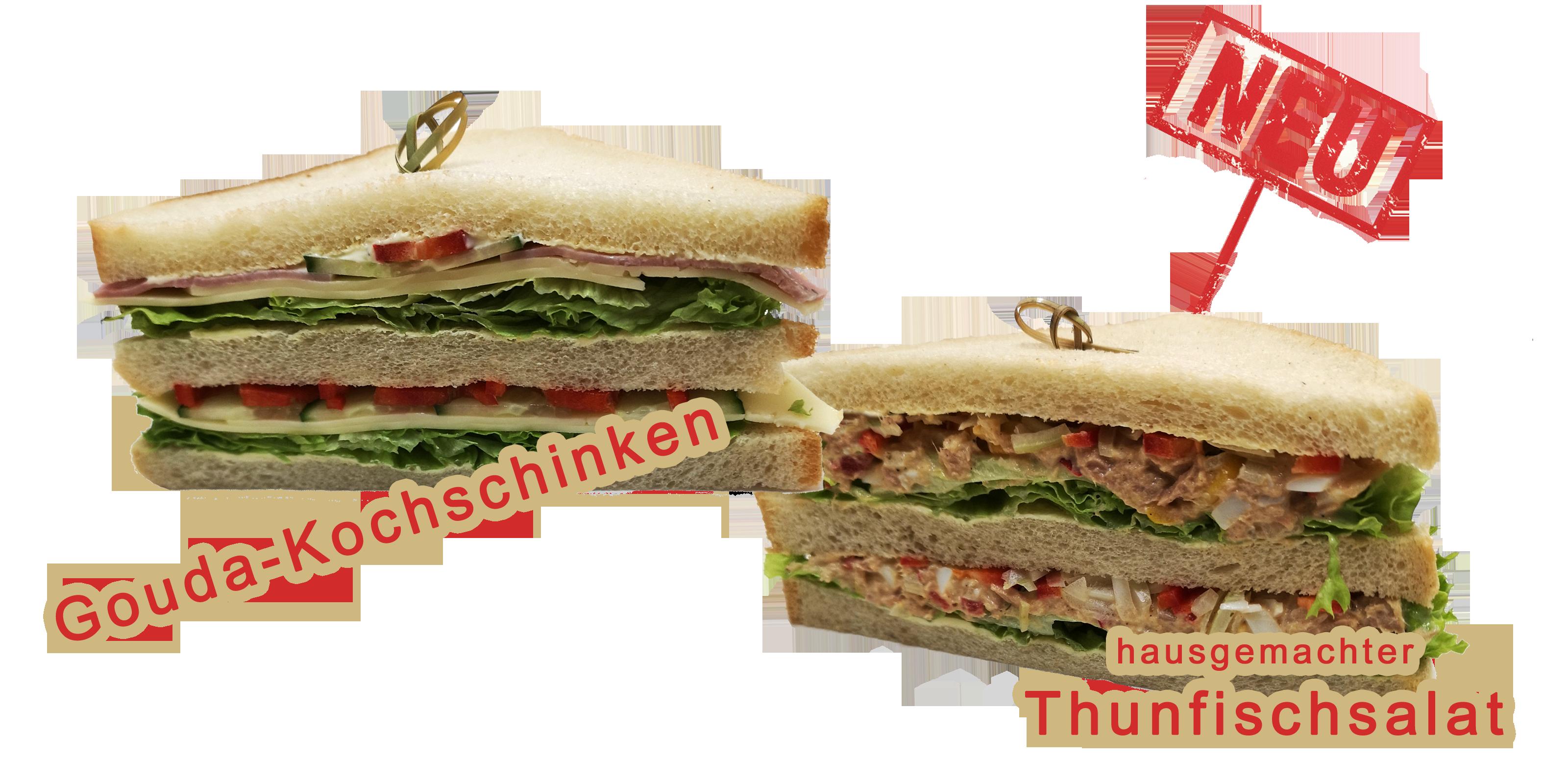 Sandwichecken vegan
